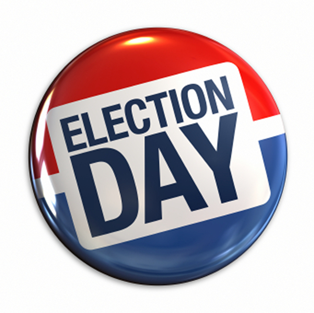 Election day button clipart